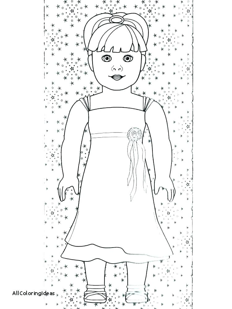 750x1000 American Girl Coloring Pages
