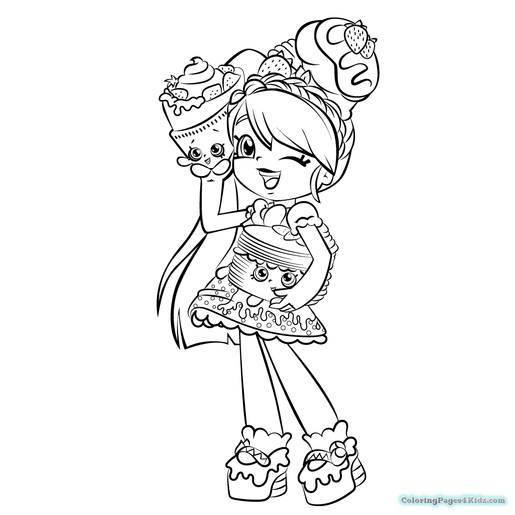1024x1024 Best Of Shopkins Girls Coloring Pages Collection Printable