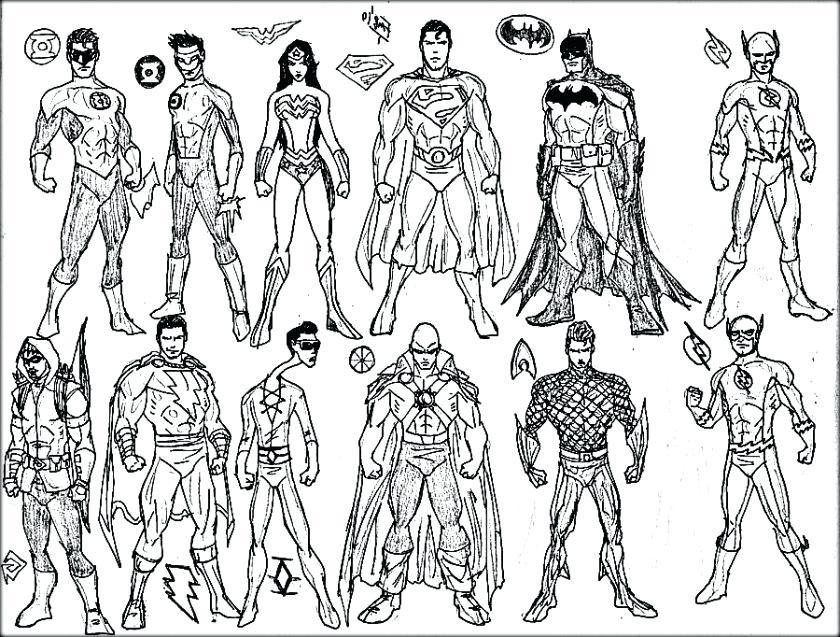 840x637 Superhero Coloring Pages Superhero Coloring Pages Color Superhero
