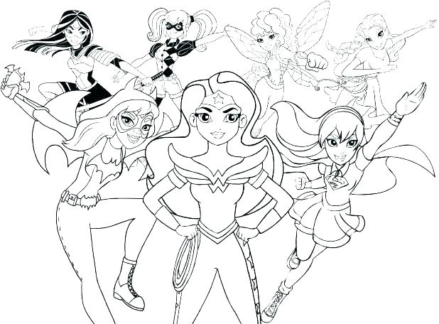 618x456 Dc Superhero Coloring Pages Inspirational Superhero Coloring Pages