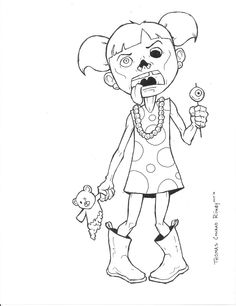 236x306 Top Zombie Coloring Pages For Your Kids Coloring Books, Craft