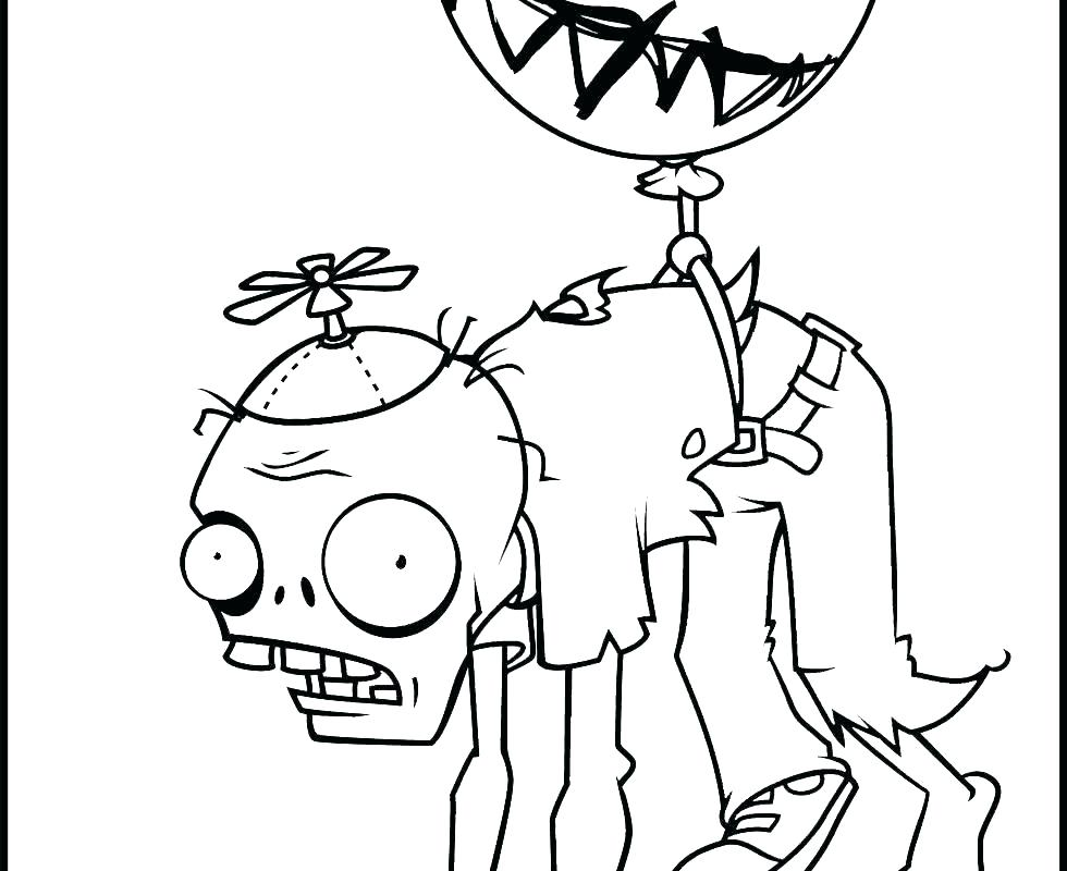 980x800 Zombie Coloring Page Coloring Pages Plants Coloring Pages