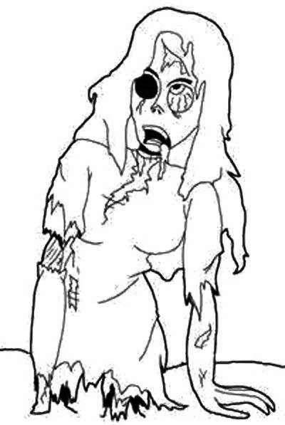400x597 Best Zombies Images On Coloring Pages, Coloring