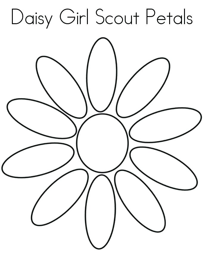 685x852 Girl Scout Cookies Coloring Pages Daisy Girl Scout Coloring Pages