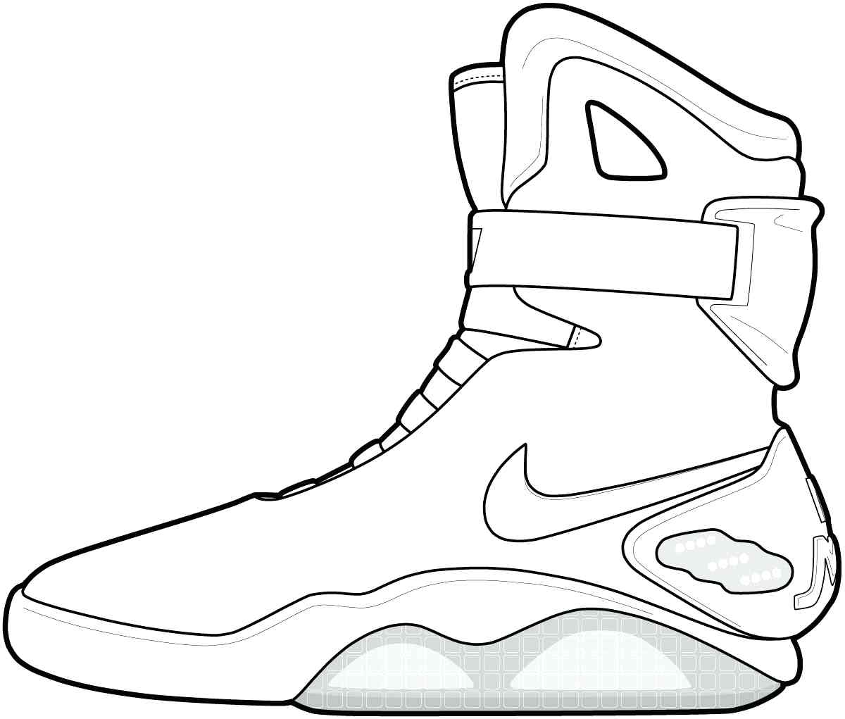 1200x1021 Popular Printable Tennis Shoe Coloring Pages Beautiful Shoes Page
