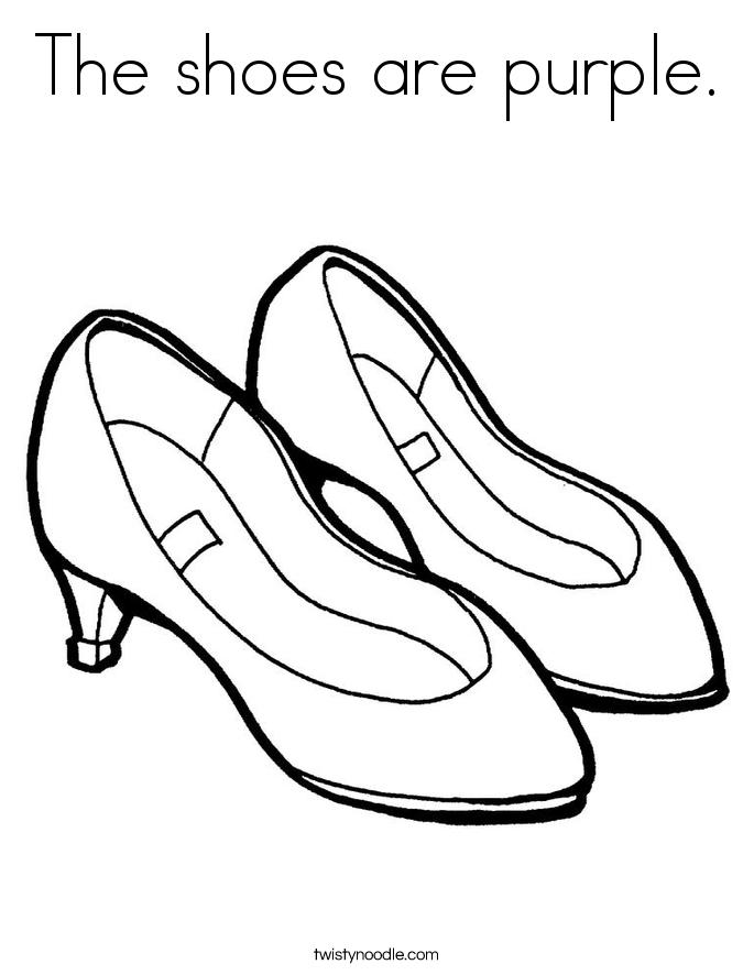 685x886 Shoe Coloring Pages