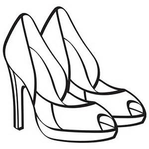 300x300 Free Printable Coloring Pages For Shoes