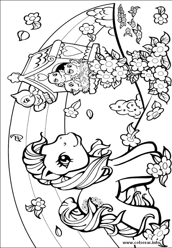 Girly Colouring Pages To Print