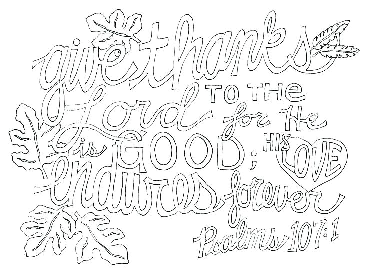 736x559 Give Thanks Coloring Pages Printable Coloring Home Improvement