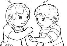 220x150 Giving Coloring Pages