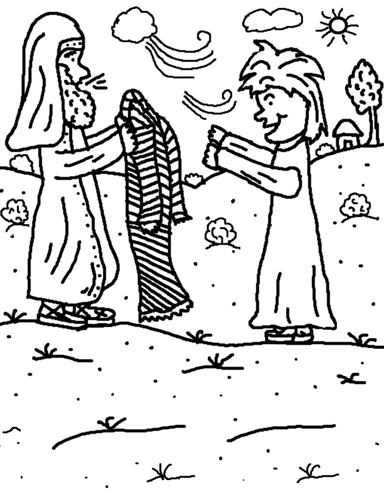 791x1024 Giving Coloring Pages Funycoloring Within