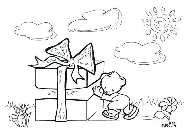 649x450 A Gift Of Giving Coloring Page Coloring Pages For Veterans Day