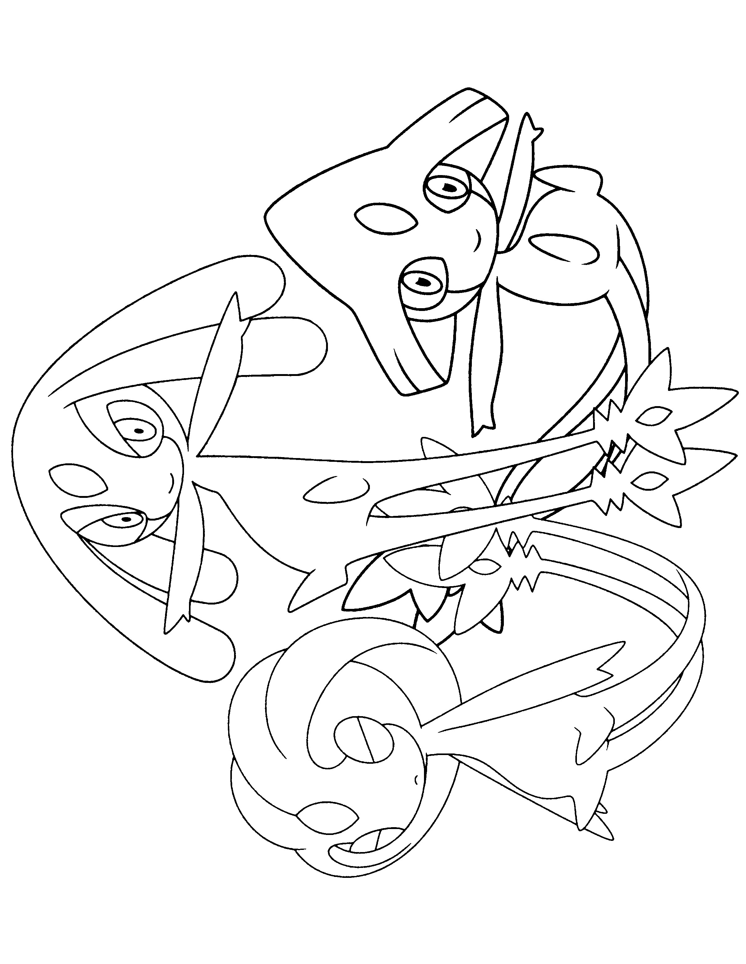 Glaceon Coloring Pages