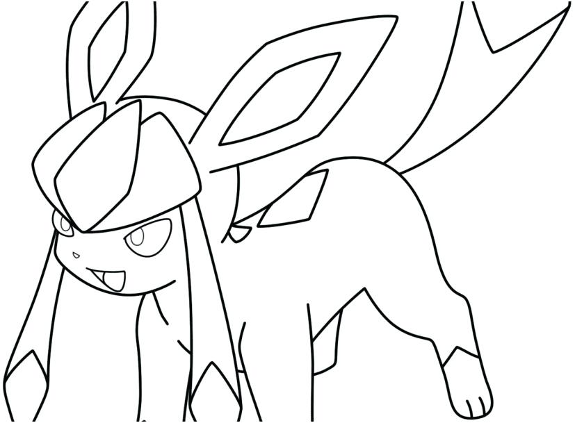 827x609 Glaceon Coloring Pages Coloring Pages Coloring Books Coloring