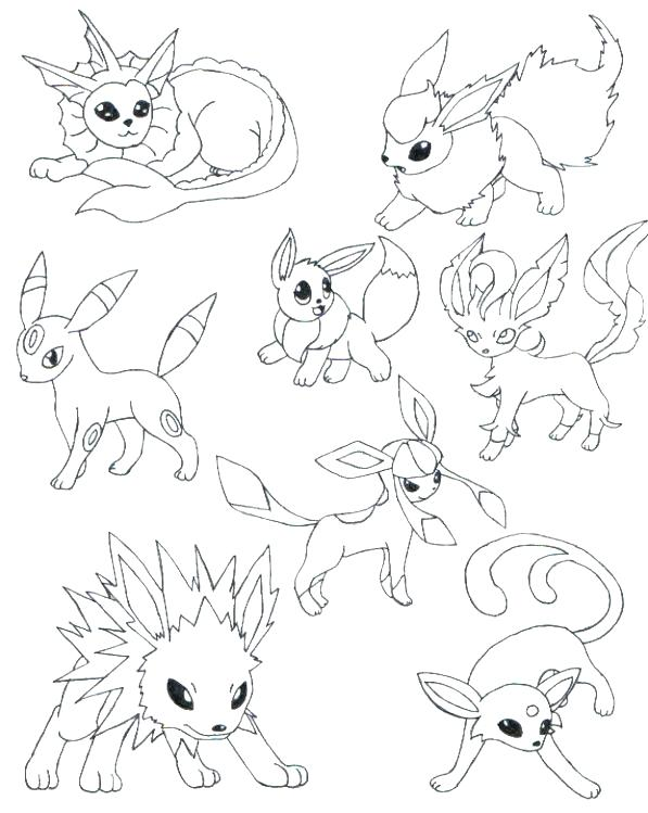 597x749 Glaceon Coloring Pages Coloring Pages Coloring Pages Of Wallpaper