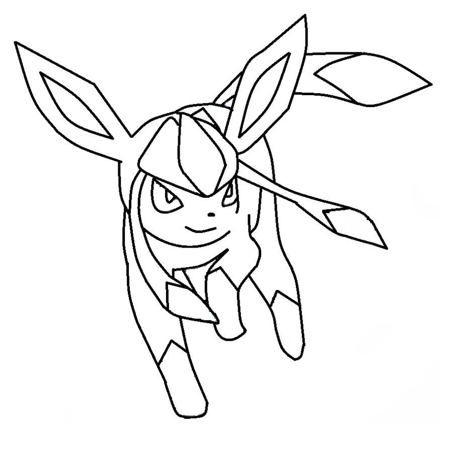 900x910 Coloring Pages Eevee Evolutions
