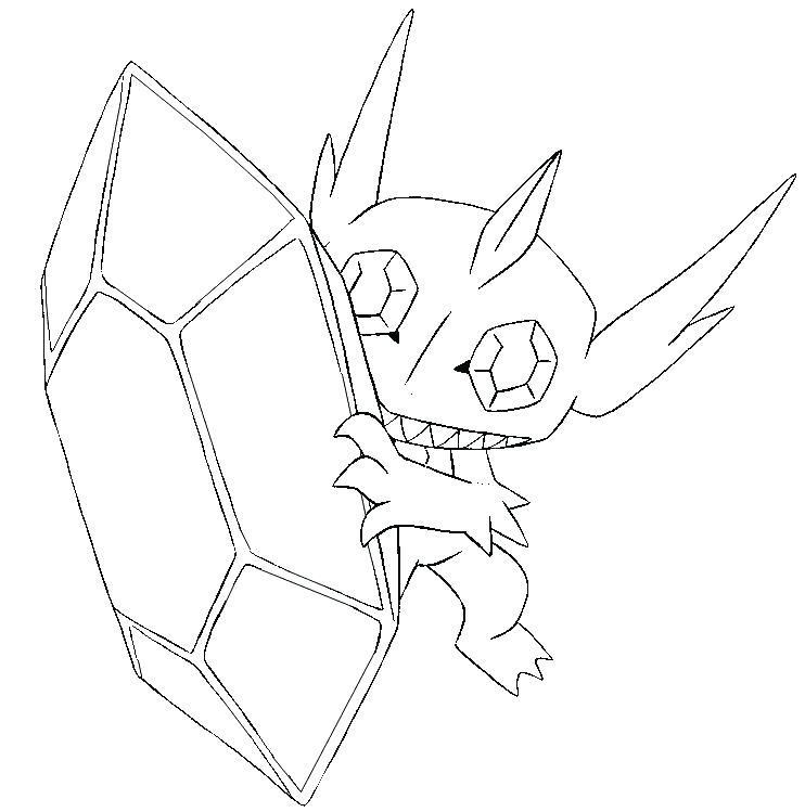 742x749 Glaceon Coloring Pages