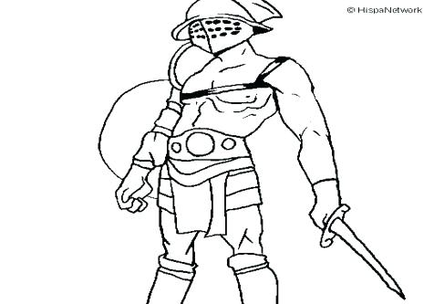 476x333 Pink Coloring Page Pink Coloring Page Coloring Pages Gladiator