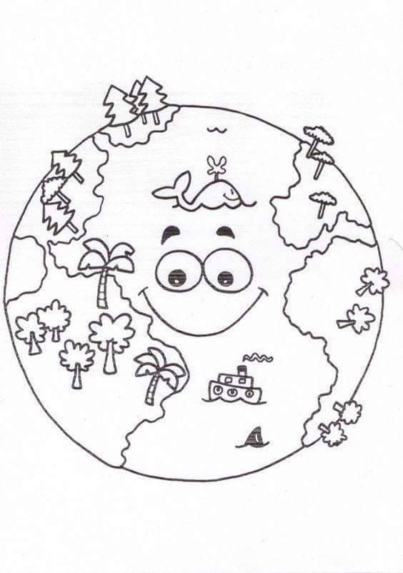 Global Warming Coloring Pages
