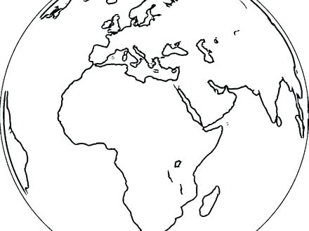 440x330 Snow Globe Coloring Page Globe Coloring Pages Snow Coloring Sheets