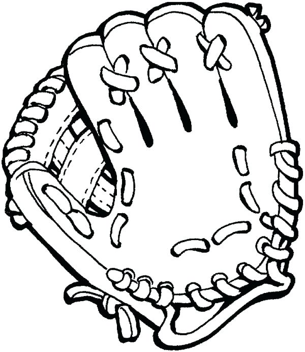 Gloves Coloring Page at GetDrawings.com   Free for personal use ...