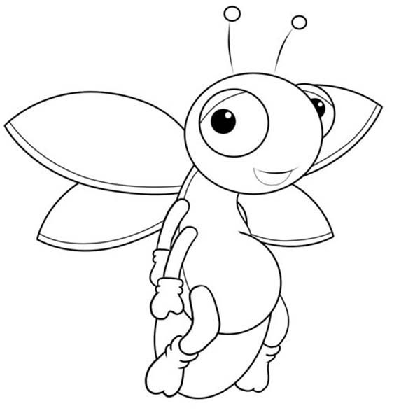600x600 Fireflies Coloring Page Printable Counseling Tools