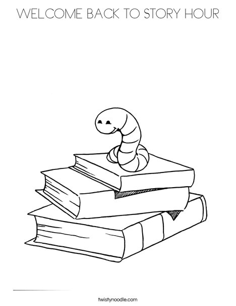 468x605 Story Book Coloring Pages