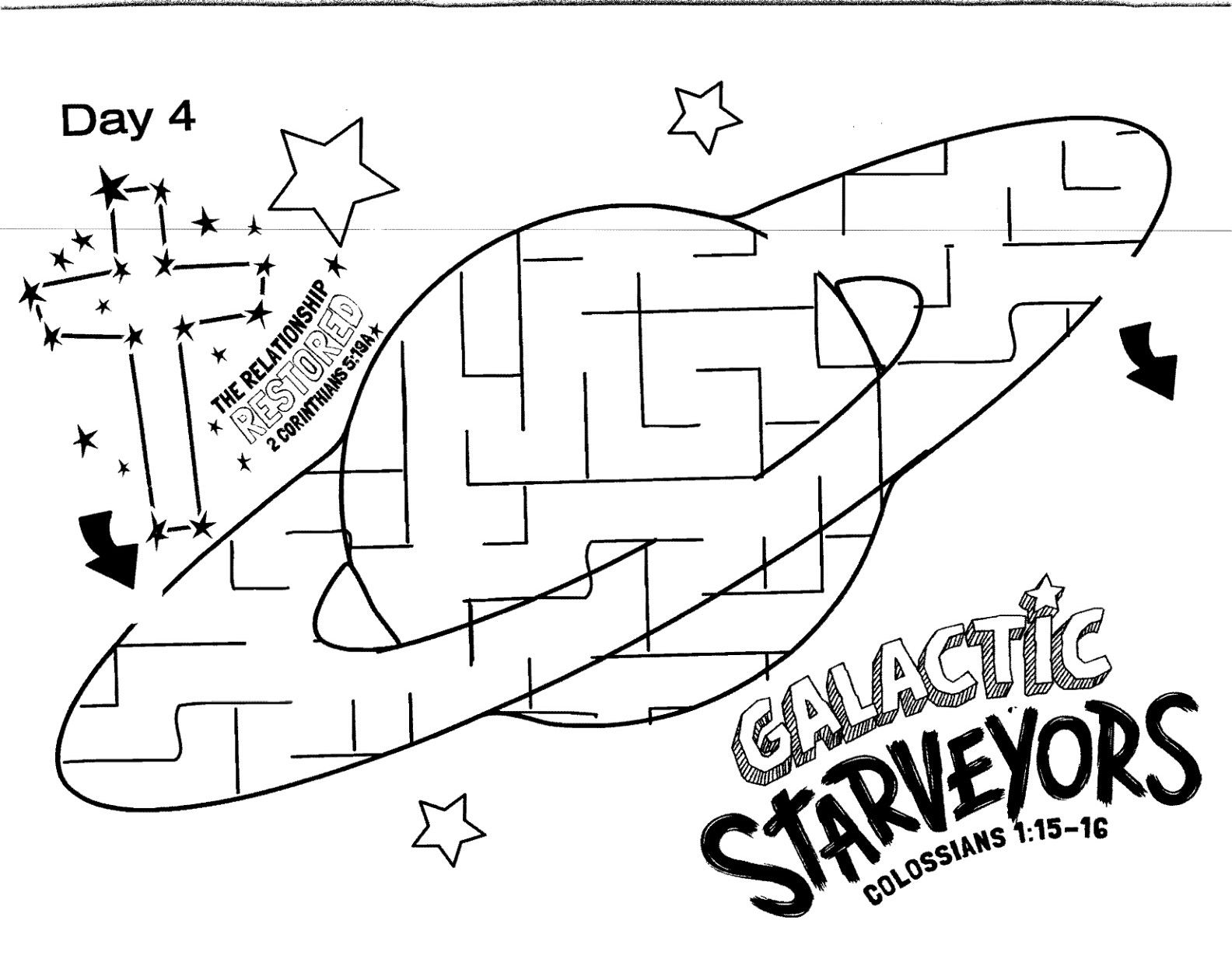 1584x1229 Announcing Vbs Coloring Pages Cave Quest Day Preschool Page