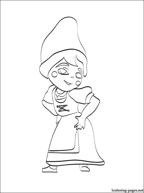 560x750 Gnomeo And Juliet Coloring Pages From Page Fuhrer Von