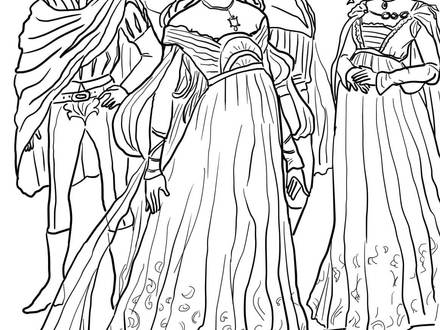 440x330 Romeo And Juliet Coloring Pages, Gnomeo And Juliet Coloring
