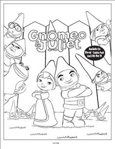236x305 Gnomeo And Juliet Coloring Pages On Coloring Our Girl