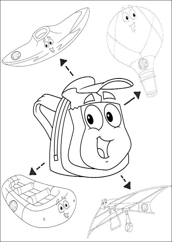 567x794 Fanciful Diego Coloring Pages Kids N Fun Com Of Go