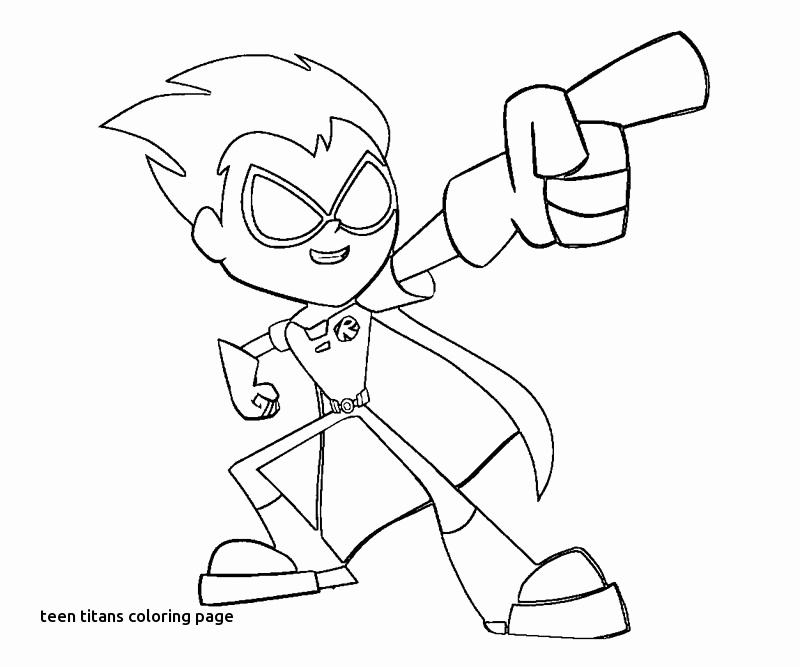 800x667 Coloring Pages Of Teen Titans Fresh Teen Titans Coloring Pages