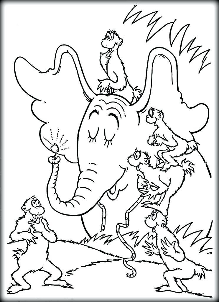 743x1024 Dr Seuss Coloring Pages Go Dog Go