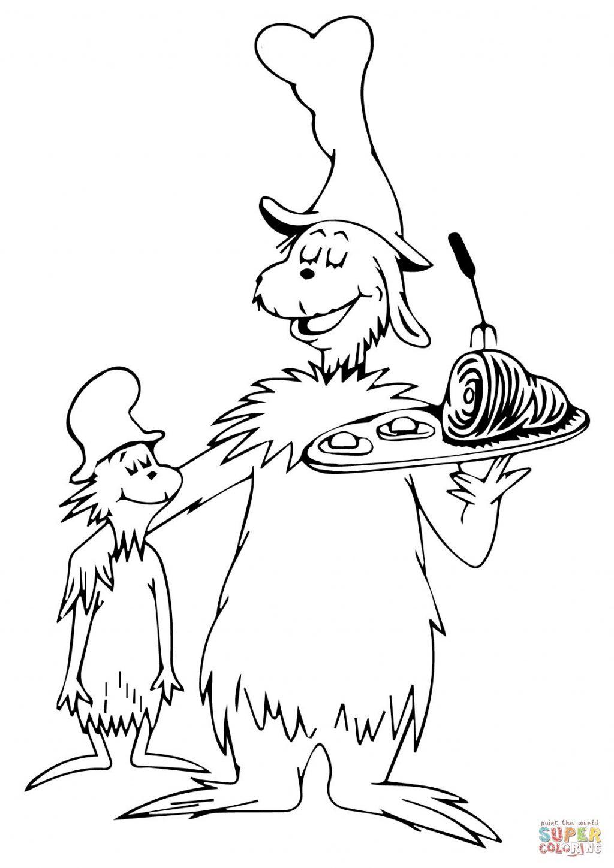 1024x1449 Dr Seuss Coloring Pages Photos Design Hat Free Print Go Dog Quotes