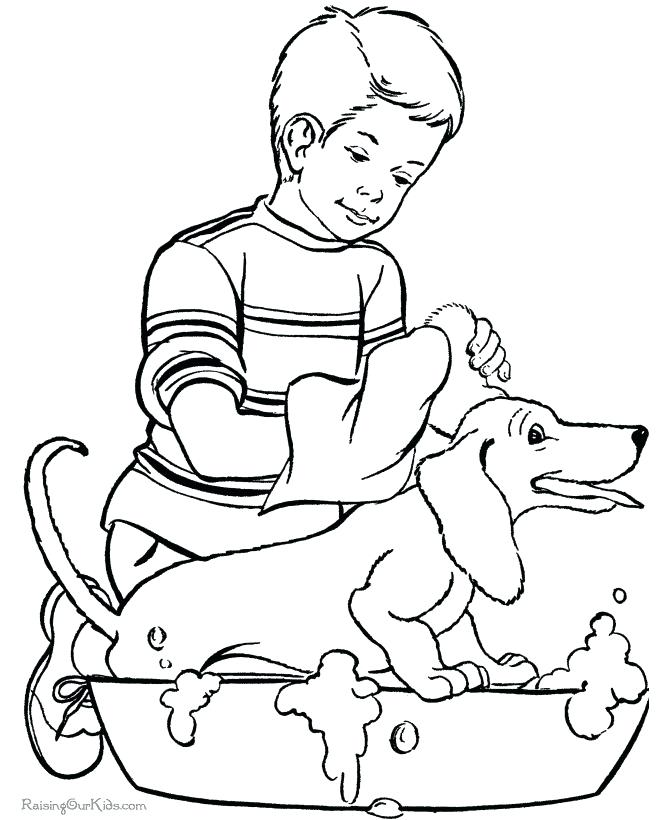 670x820 All Dogs Go To Heaven Coloring Pages Fun Animal Coloring Page