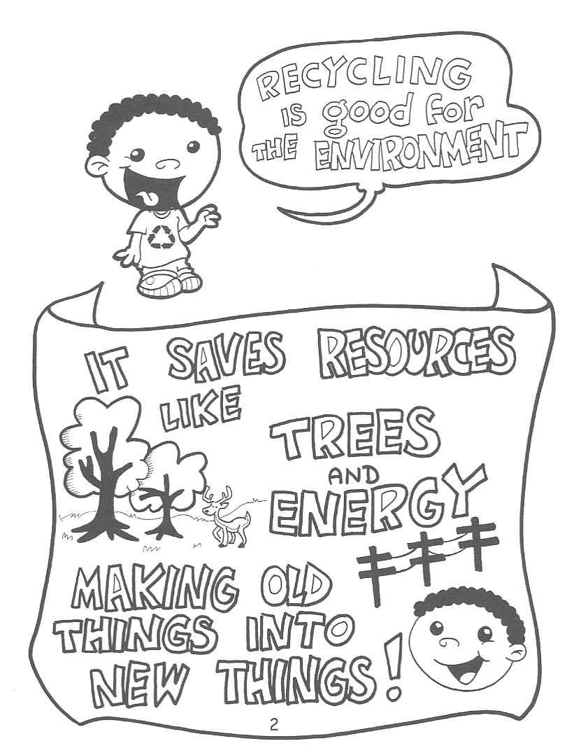821x1079 Kay Go Green Project Coloring Pages