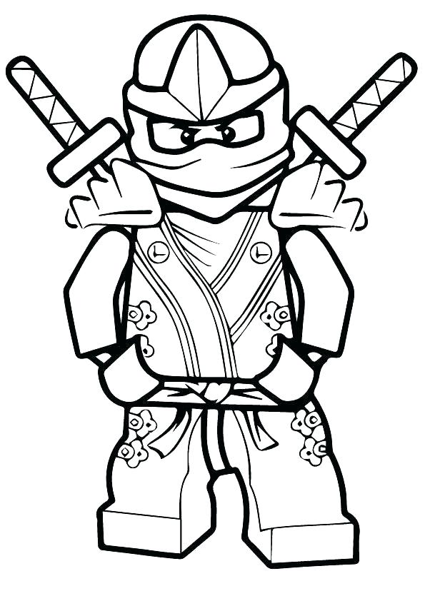 595x842 Lego Ninja Coloring Pages Ninja Coloring Page Evil Green Ninja