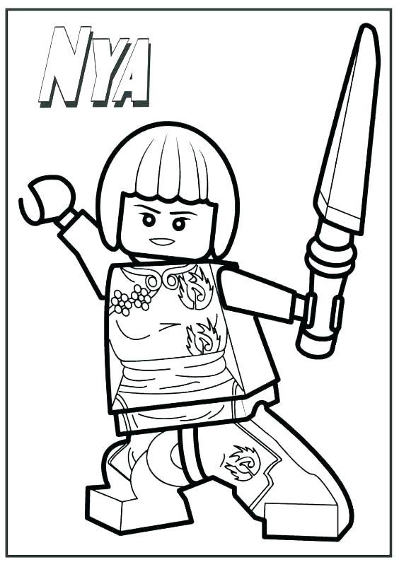 564x802 Green Ninjago Coloring Pages Professional