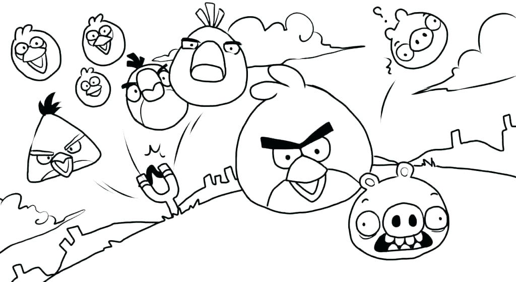 1024x559 Angry Bird Coloring Page Bird Coloring Pages To Print Birds