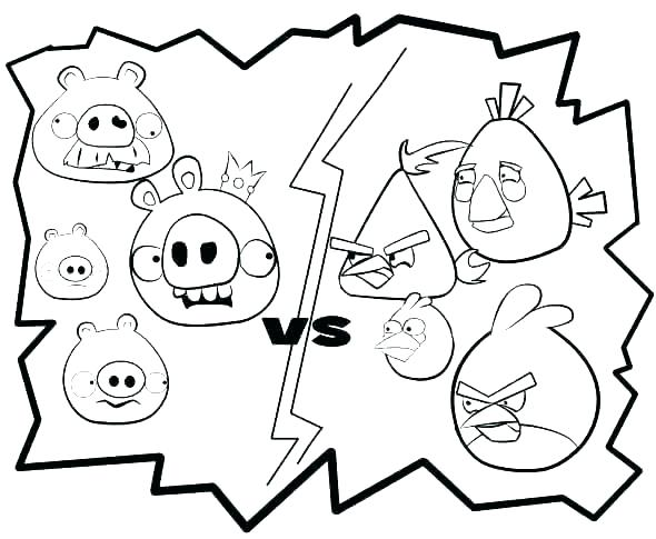 590x485 Angry Birds Colouring Pages Games Angry Bird Coloring Pages Angry