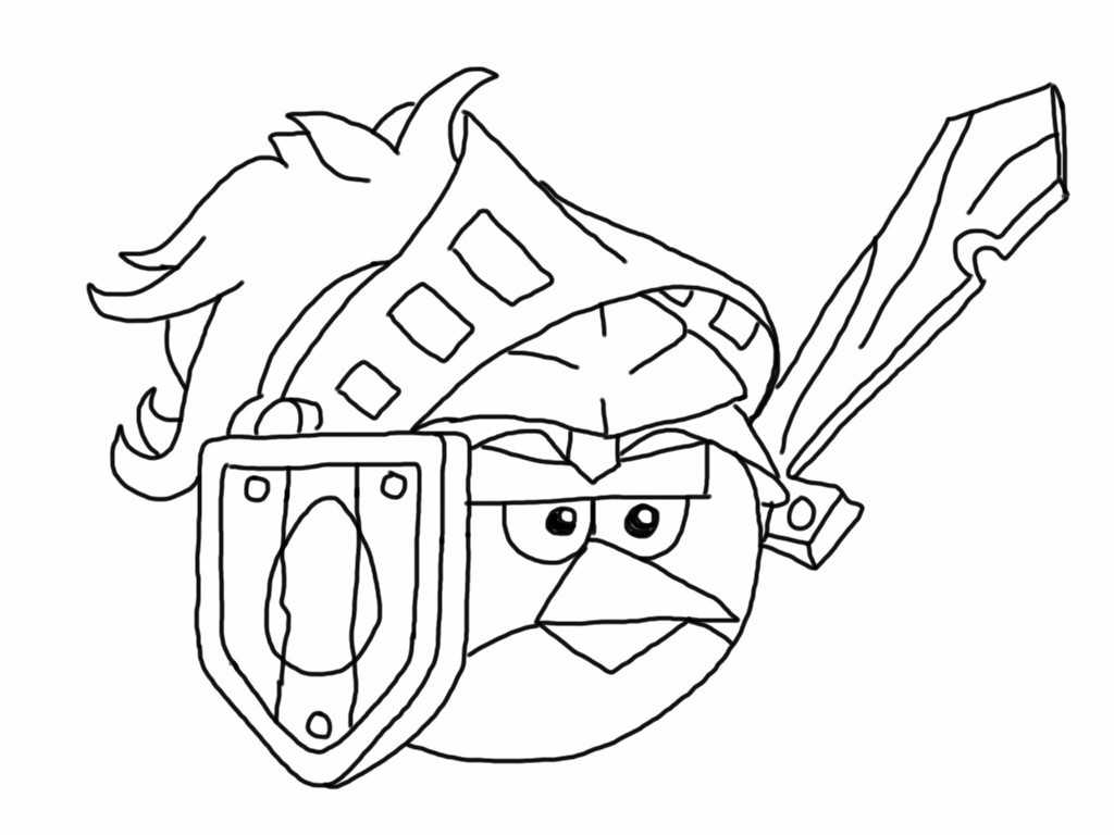 1024x768 Angry Birds Go Coloring Pages