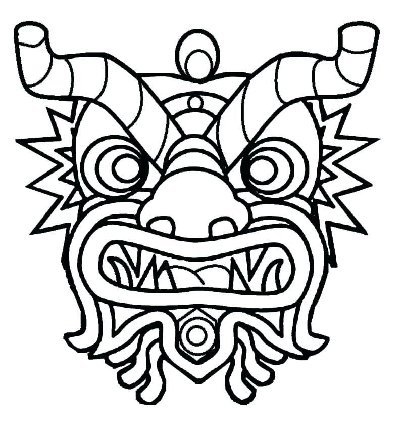 800x850 Mask Coloring Pages Masks Coloring Pages Coloring Masks New Year