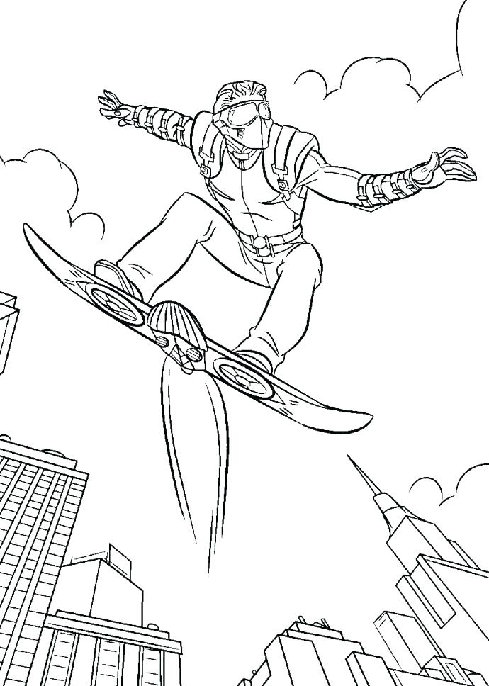 690x968 Green Goblin Coloring Page Green Coloring Pages Green Lantern Logo