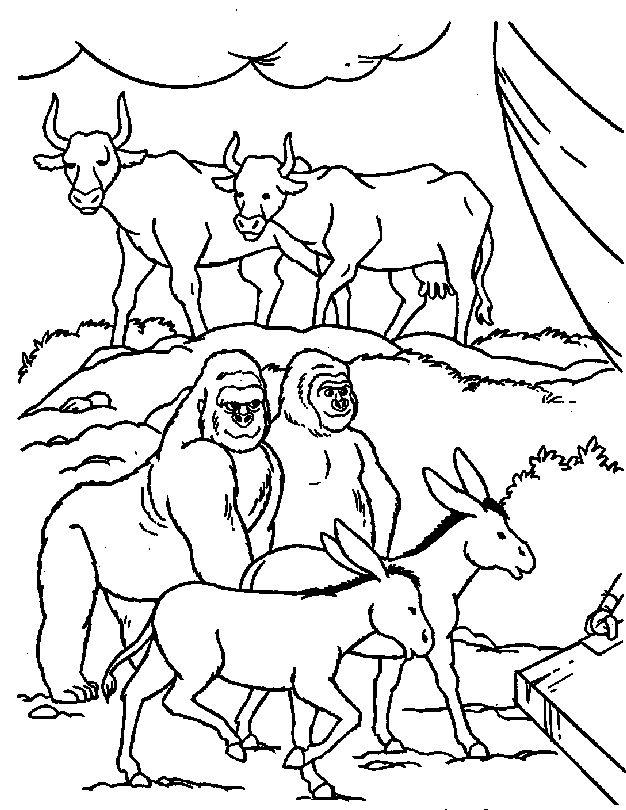 626x810 Best Noah's Ark Images On Sunday School Crafts
