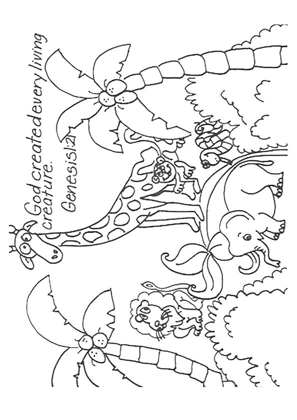 595x842 God Made Me Special Coloring Page God Made Me Coloring Page Free