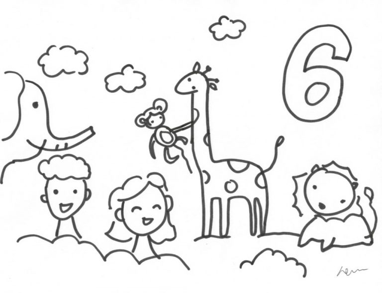 768x590 Coloring Page God Created Animals New Made Everything Az Pages