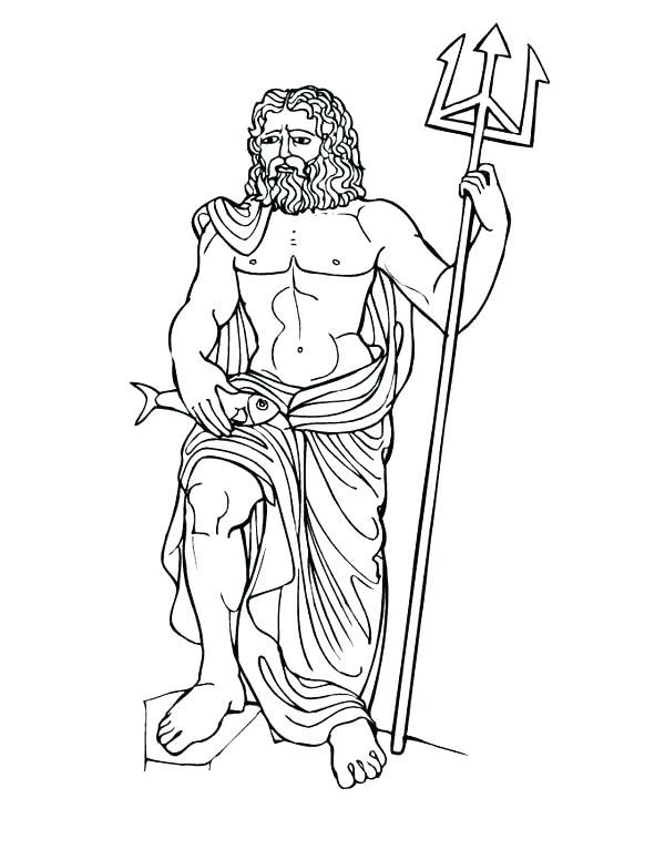 600x776 Greek Mythology Coloring Pages Mythology Coloring Pages Myths God