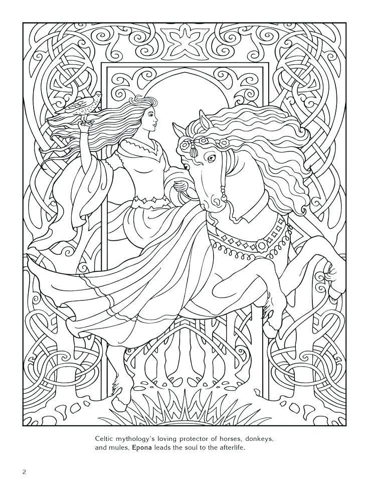 736x981 Coloring Pages Greek Gods God Worksheet View Larger Goddess