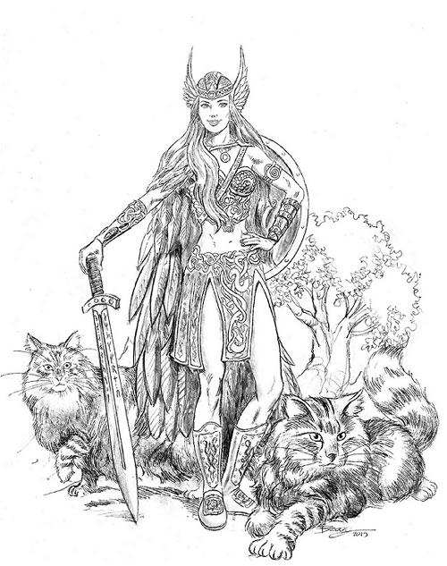 500x633 Norse Mythology